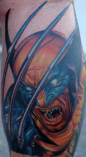Tattoo Blog » Uncategorized » wolverine tattoo