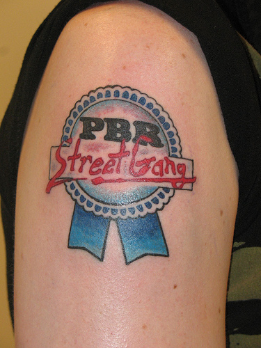 Tattoo Blog Uncategorized pbr street gang tattoo