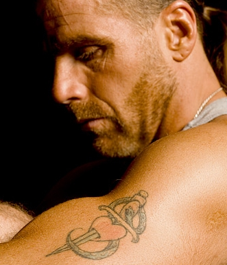 Tattoo Blog » Uncategorized » shawn michaels heart and sword wwe tattoos
