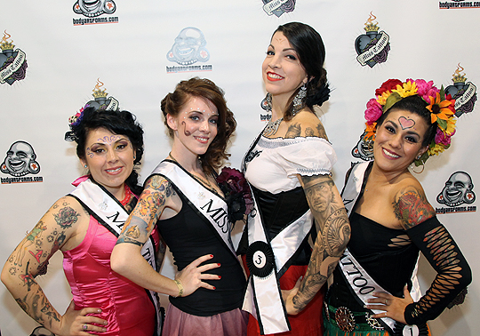 Tattoo blog albuquerque new mexico miss tattoo results for Miss tattoo pageant