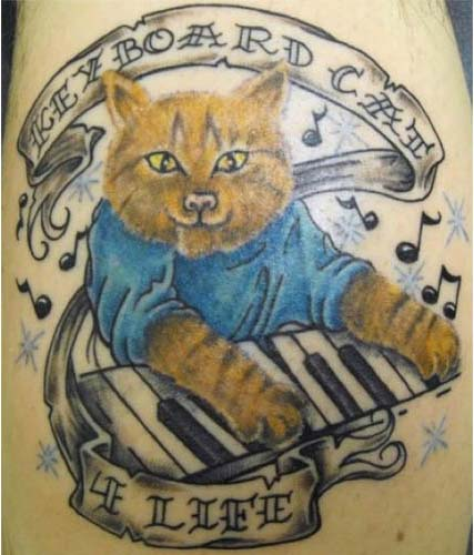keyboard-cat-for-life-tattoo